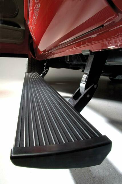 AMP Research 76154-01A PowerStep Running Boards Silverado Sierra Double and Crew