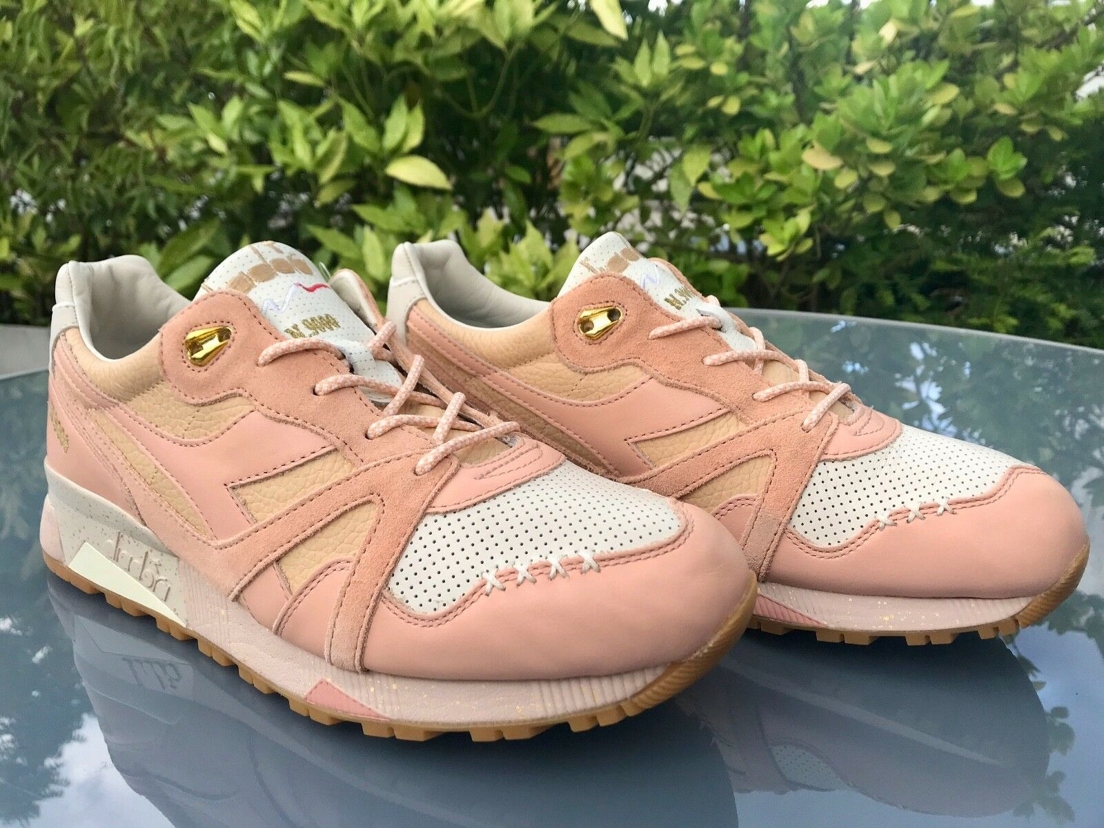 Limited Ed. FEATURE  Diadora N9000 x FEATURE Ed. Ice Cream Strawberry Peach EU 44,5 US10,5 7c1238