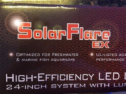 Deep bluee Pro SolarFlare EX 324 High Efficiency LED Light Strip 24 inch 14.5 W