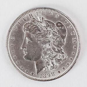 1898 Morgan Silver Dollar Ms Beautiful Coin No Reserve Auction 59 99 Ebay