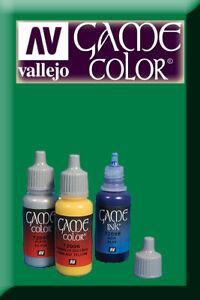 Diligent Game Color Green Ink 72089 Inchiostro Vallejo Vif Et Grand Dans Le Style