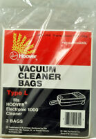 Hoover Electronic 1000 Type L Canister Vacuum Cleaner Bags H-4010030l
