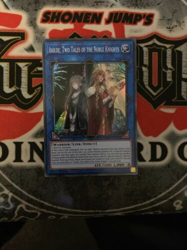 SOFU-ENSE1 Nm Super Rare Yugioh Two Tales of the Noble Knights Isolde