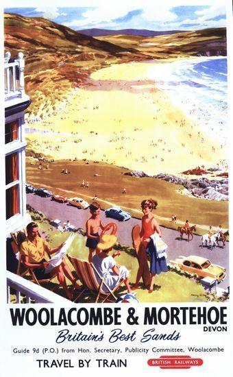 Art Print Southport Railway Travel  Poster