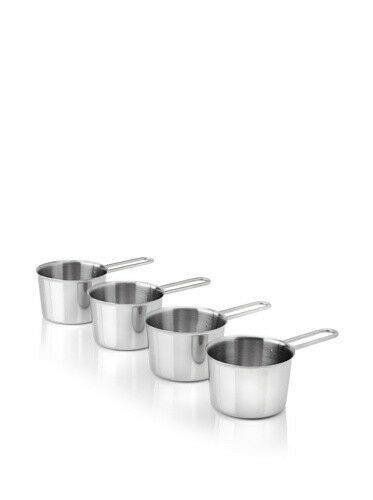 BergHOFF Stainless Steel 3 , 4-Piece Cocotte Fera Set 1000004 New