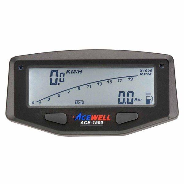 A1500 Digital Speedometer Tacho Speedo with Battery suit Honda XR400 XR400R etc