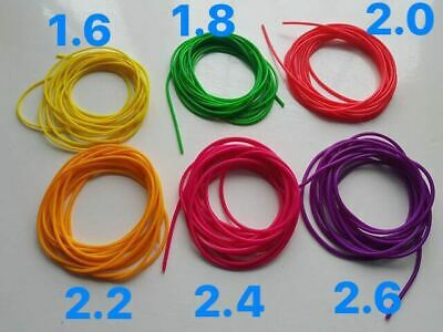 Hollow Latex Elastic Double and Single Layer For Pole Fishing Rod 1.6-4.0mm