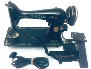 1923-Vintage-Antique-Singer-Sewing-Machine-Model-ACO3476