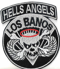 Hells Angels Patch LOS BANOS 10x8,5cm Military Biker Kutte NEU RAR
