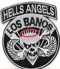 Hells Angels Patch LOS BANOS 10x8,5cm Military Biker Kutte NEU RAR