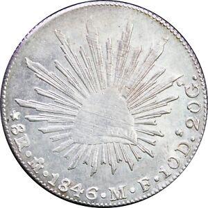 Mexico-8-Reales-Mo-1846-M-F-Mexico-Mint-Original-luster-KM-377-10