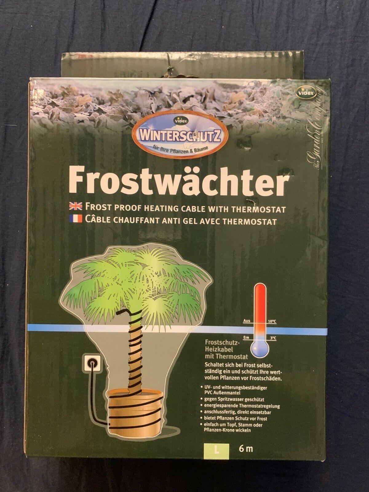 Elektrischer Frostwächter Frostschutz Palme Exotische Pflanzen Grösse L VIDEX 2