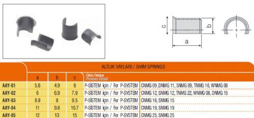 10 Stk. Rohrstift P-System
