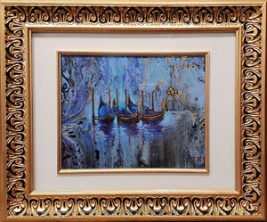 Dream-about-Venice-Original-oil-over-acrylic-on-canvas-8-034-x10-034-fantasy-painting