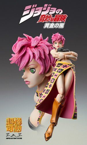Super Action Statue 54 Trish Una Hirohiko Araki Specify Color Ver.
