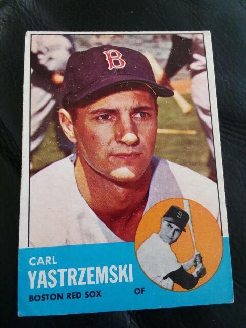 1963 Topps Carl Yastrzemski Boston Red Sox #115 Baseball Card  (read)