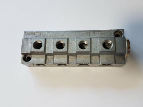 FESTO FR-8-1/4 2078 Verteilerblock - NEU -  worldwide shipping