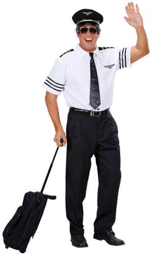 AIRLINE PILOTS UNIFORM FANCY DRESS OUTFIT