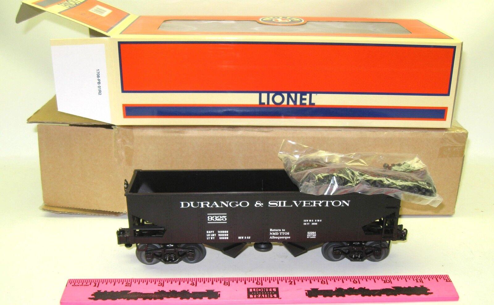 Lionel 6-52264 TTOS 2002  O  gauge New Mexico Division car with coal