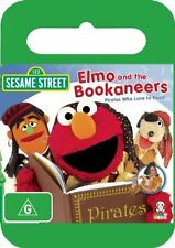 Sesame Street - Elmo And The Bookaneers, Pirates Who Love To Read (DVD, 2009)