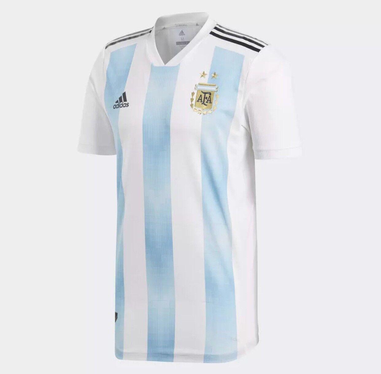 Adidas argentoina 2018 Authentic Home Shirt  blu BQ9329