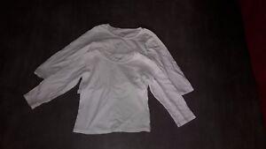 Lot-de-2-maillots-de-corps-t-shirts-VERTBAUDET-manches-longues-4-ans-au-6-ans