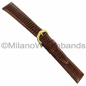 11mm-Hadley-Roma-Lizard-Grain-Brown-Padded-Stitched-Leather-Ladies-Watch-Band