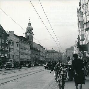 Autriche C. 1950 - Autos Rue Animée Maria-theresien Str Innsbruck- Div 11393 Ss3cuay9-07223821-412983035