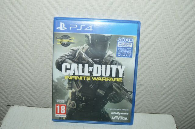 JEU  PS4  CALL OF DUTY INFINITE WARFARE   TBE GAME ACTIVISION