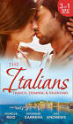 The Italians: Franco, Dominic and Valentino: The Man Who Risked it All / The Moretti Arrangement / Valentino's Pregnancy Bombshell by Michelle Reid, Amy Andrews, Katherine Garbera (Paperback, 2015)