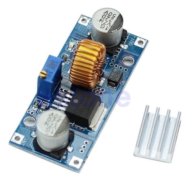 Step Down Power Supply Module 24V 12V 9V 5VDC to DC 4V-38V to 1.25V-36V 5A