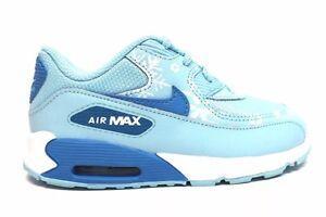 05526b76b Nike Toddler AIR MAX 90 Prem Mesh Copa Blue Lagoon Shoes (724878 400 ...