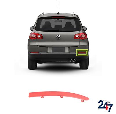 VW Tiguan 2008-/> Red Rear Reflector N//S Passenger Side Left