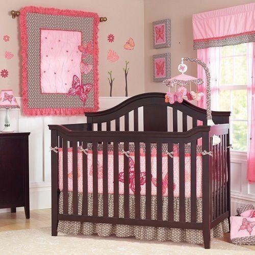 Nautica Isabella 10 Piece Crib Set Comforter Sheets Valance Canvas Wall Arts Ebay