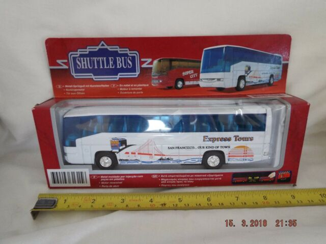 SHUTTLE BUS SAN FRANCISCO NEW AND BOX