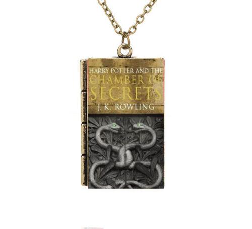 Miniature Harry Potter et la chambre des secrets Serpent Petit Livre Collier