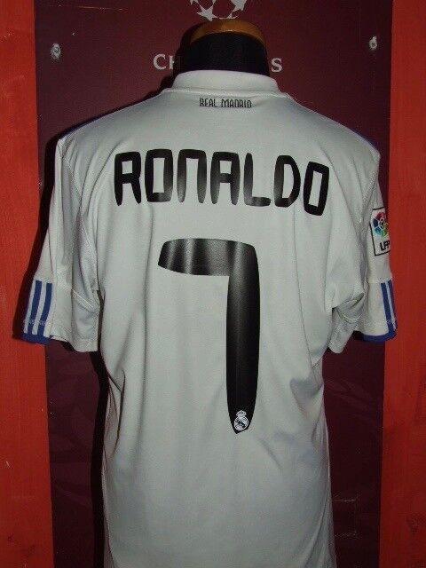 RONALDO REAL MADRID 2010 2011 MAGLIA SHIRT CALCIO FOOTBALL MAILLOT JERSEY SOCCER