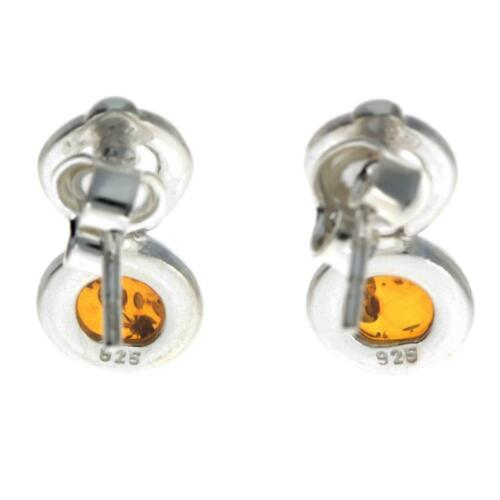 Details about  /CERTIFIED NATURAL BALTIC AMBER 925 STERLING SILVER DROP DANGLE Studs Earrings