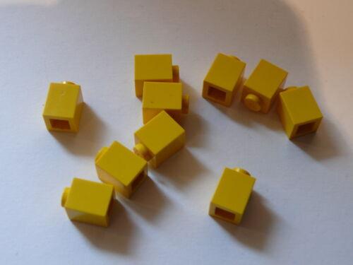Lego 10  yellow bricks 1 x 1 10  briques jaunes