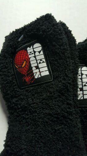 Pairs Spiderman Rubber Dot Bottom non skid Warm And Cozy Boys Sock Size 6-8 6