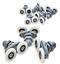 Ersatzteile-Duschkabinenrollen-23mm-Duschtuer-Rollen-Fuer-Duschkabine-26mm-8stk Indexbild 1