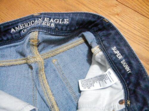 Bleu Eagle American Super Skinny fonc xXtddqUzw