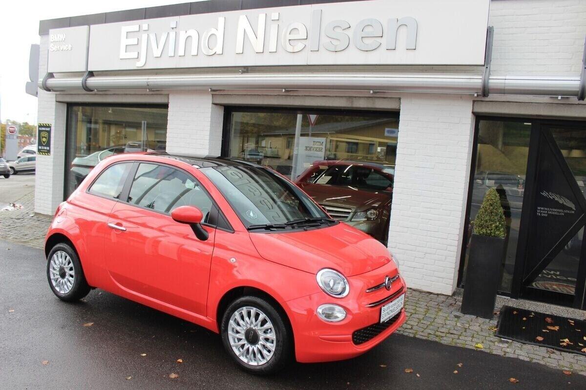 Fiat 500 1,0 Lounge+ 3d - 2.506 kr.