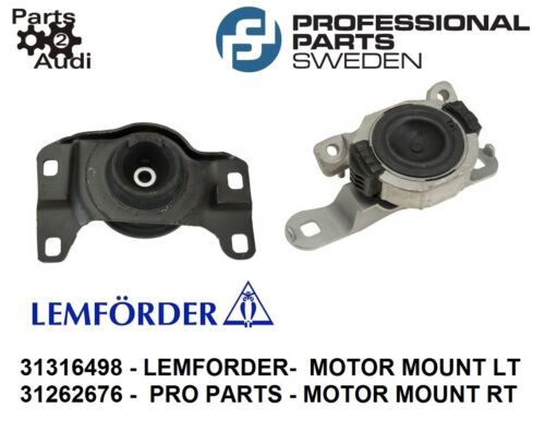 Engine Mounts Lower Left /& Right Kit Fits Volvo