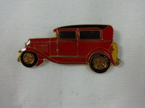Old Car Red /& Black Lapel Hat Pin