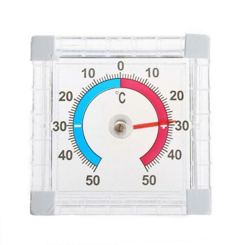 Temperature Thermometer Window Indoor Outdoor Wall Greenhouse Garden Home
