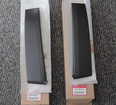 2001-05 honda civic 4dr trim garnish right door mirror 76220-s5a-a010 oem b8