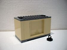 LEGO® Eisenbahn Container beige für 3677, 7898, 7939, 60052 - NEU