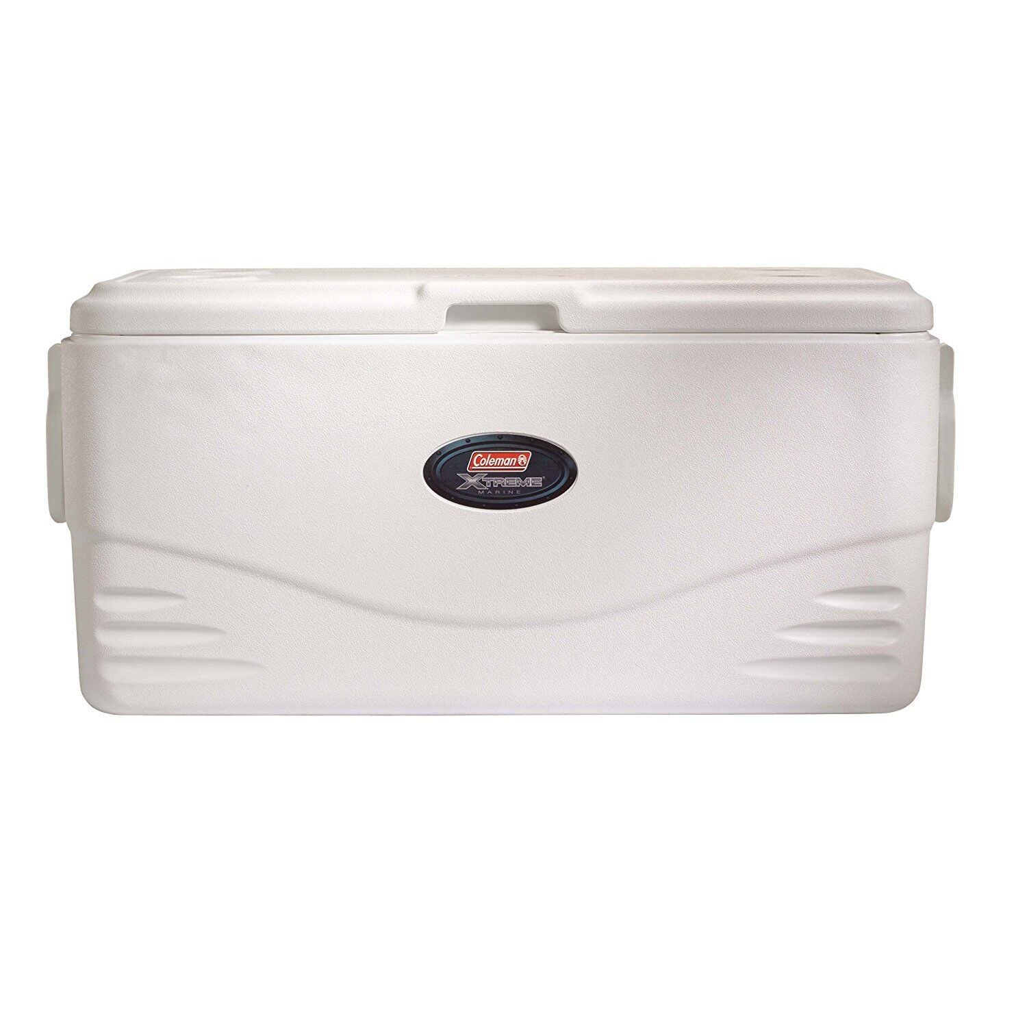 100Qt White Marine Cooler 164 Can Drink Storage Insulated Ice Chest Camping New