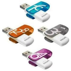PHILIPS USB 3.0 Stick Speicherstick KEY VIVID Flash Drive 16GB 32GB 64GB 128GB